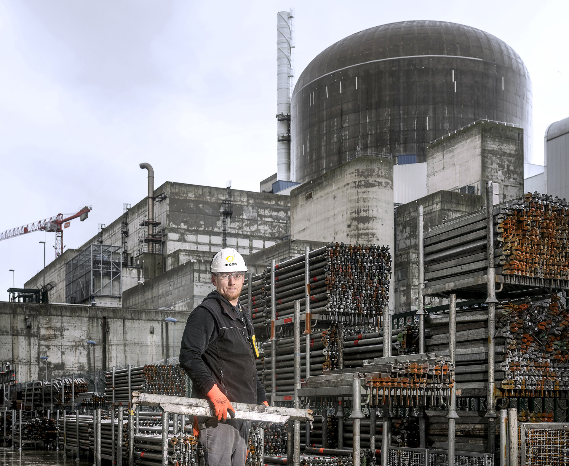Activities of services for EDF support for the operation of the nuclear power plant of Paluel.