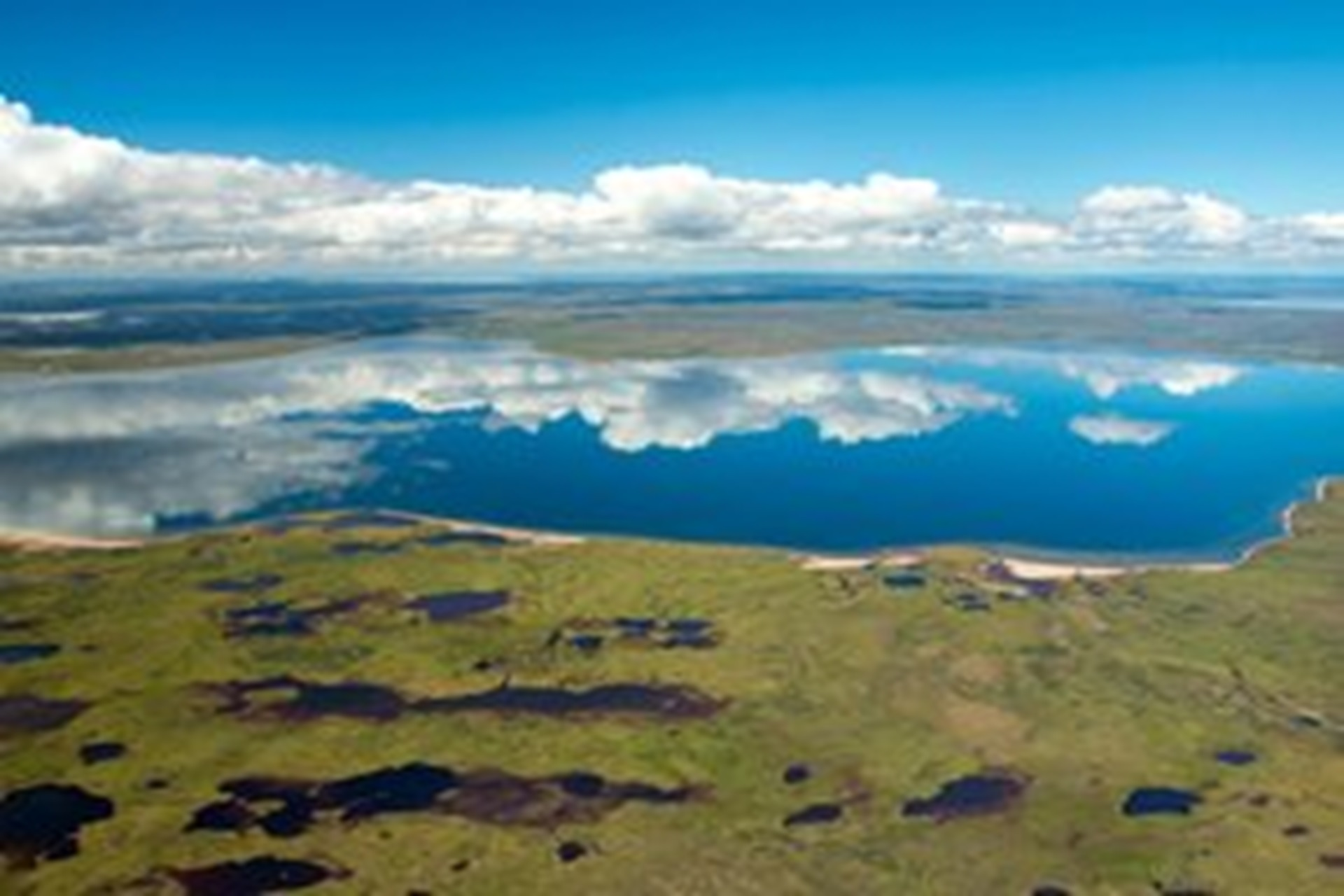 Photographie de la Région de Kiggavik, Nunavut, Canada.