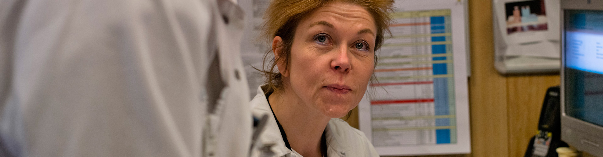 Françoise Boulanger, Radiation Safety Officer, la Hague plant.